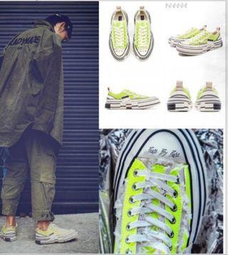 Xvessel 吳建豪解構鞋(螢光色)全新正版