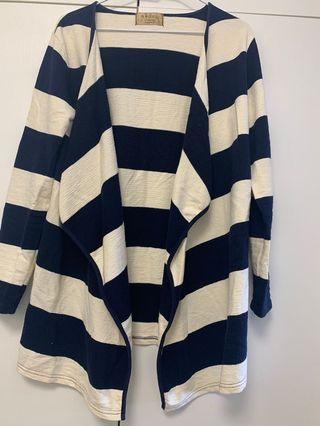 藍白條紋外套