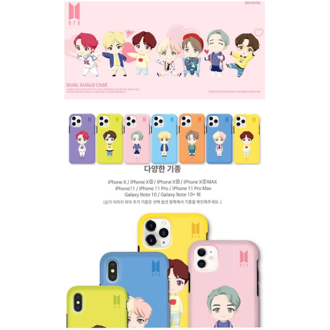 [🇲🇾 GROUP ORDER] BTS CHARACTER OFFICIAL GOODS MOBILE ACCESSORY
