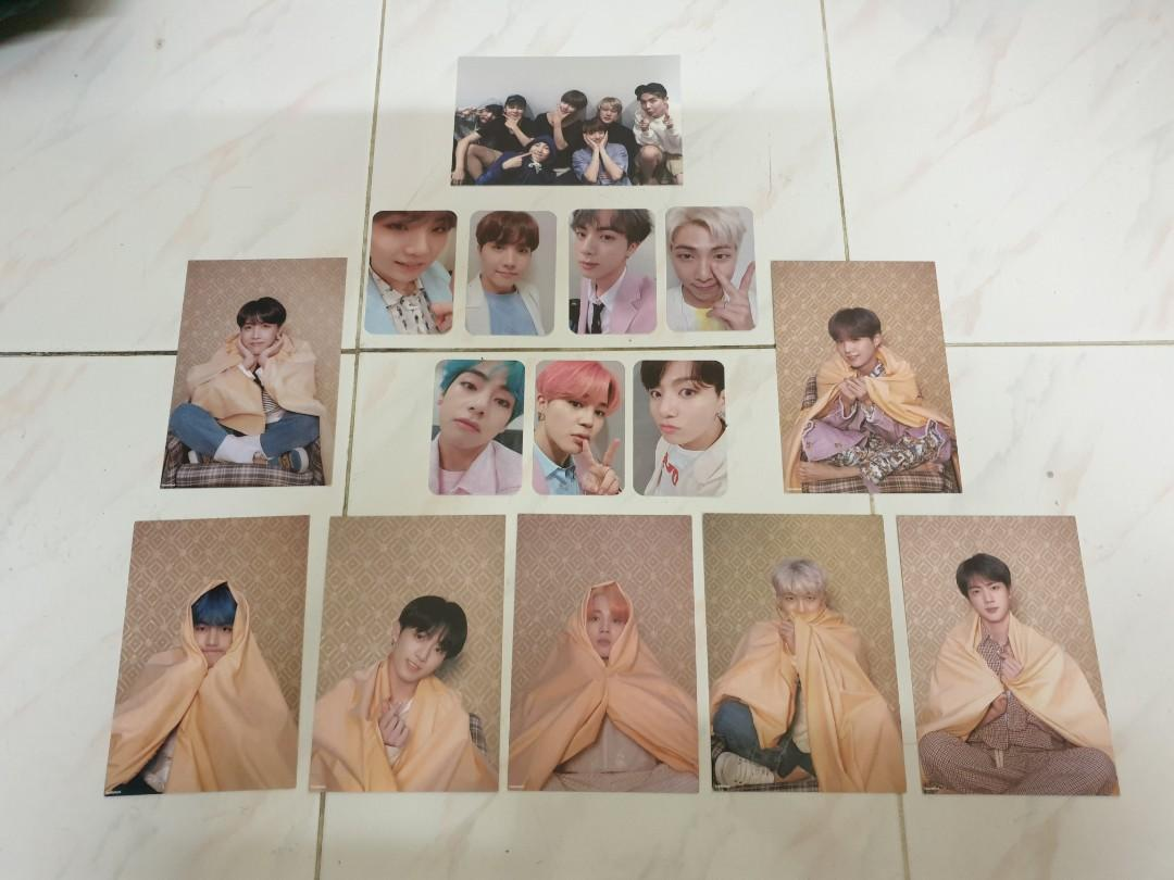 All for RM15 bts persona photocards postcard set photo card unofficial