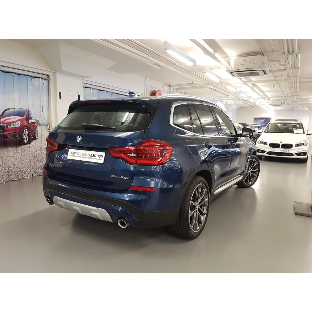 BMW X3 xDrive30iA xLine 2018
