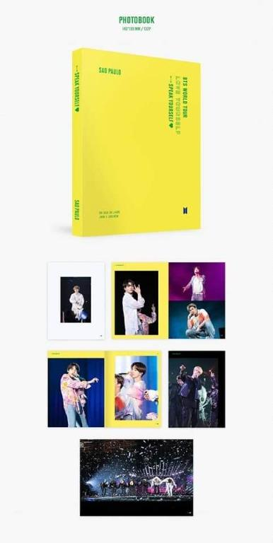 BTS LOVE YOURSELF: SPEAK YOURSELF IN SAN PAOLO DVD