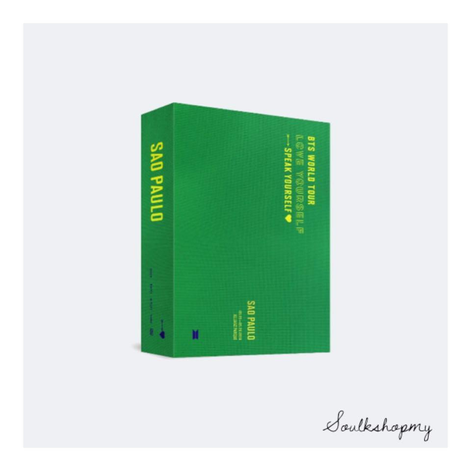 BTS WORLD TOUR LOVE YOURSELF: SPEAK YOURSELF SAO PAULO DVD