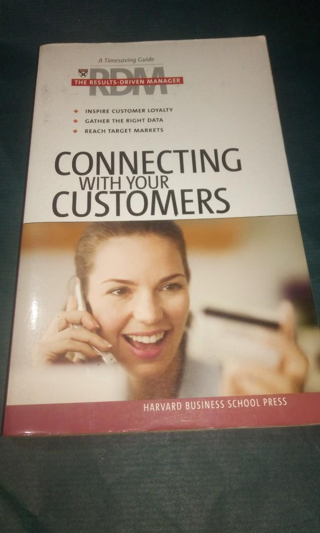 Connecting With Your Customers by Harvard Business Review Press