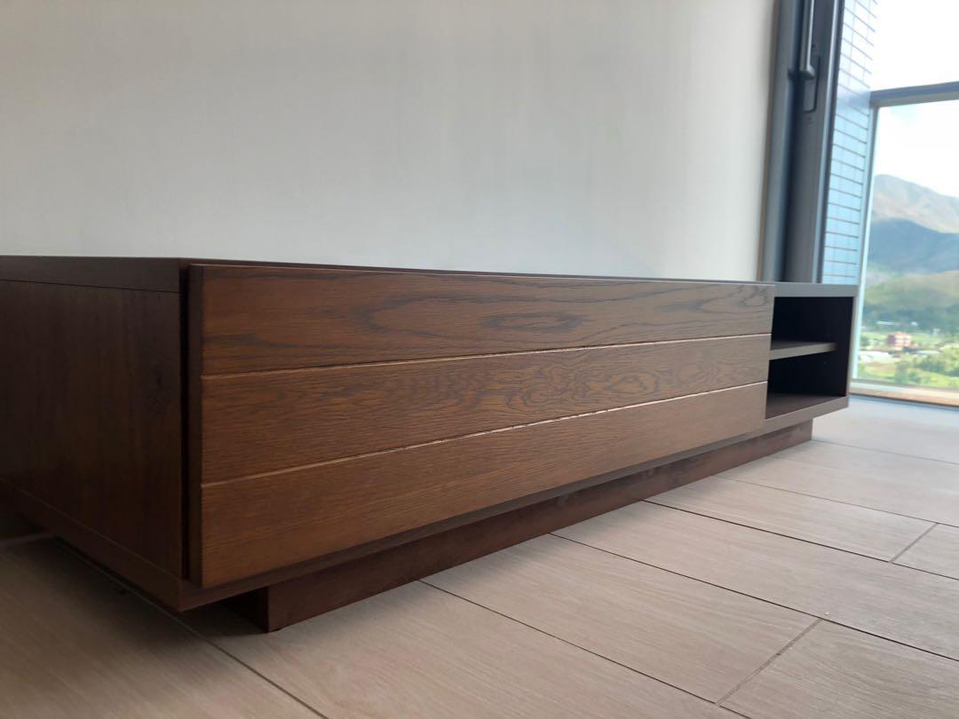 Francfranc全新日本製造實木電視櫃