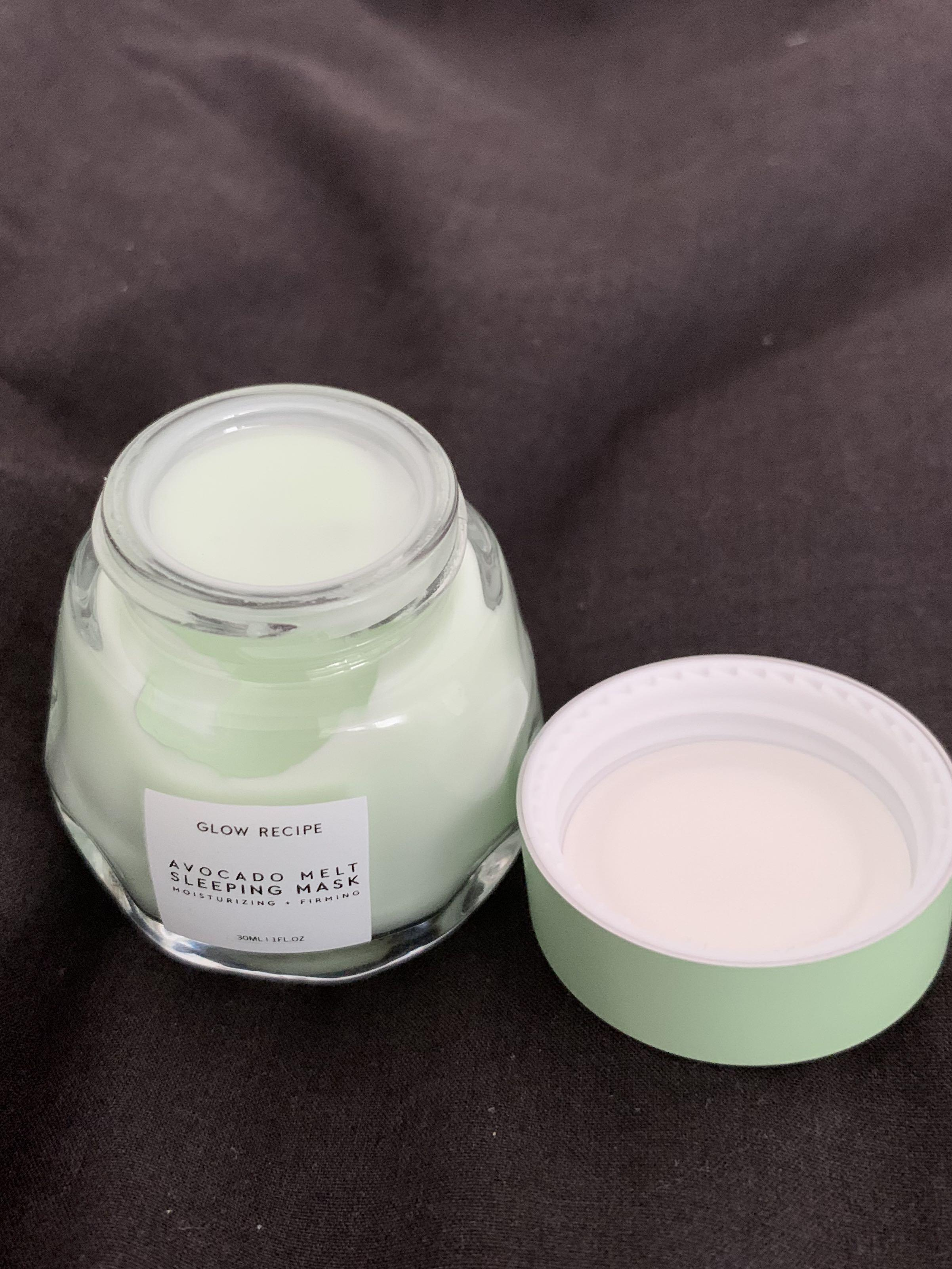 Glow recipe avocado melt sleeping mask 30ml brand new