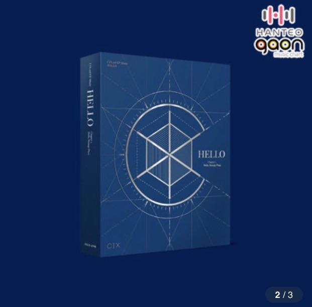 [GO] CIX - 2nd EP ALBUM HELLO' Chapter 2. Hello Strange Place