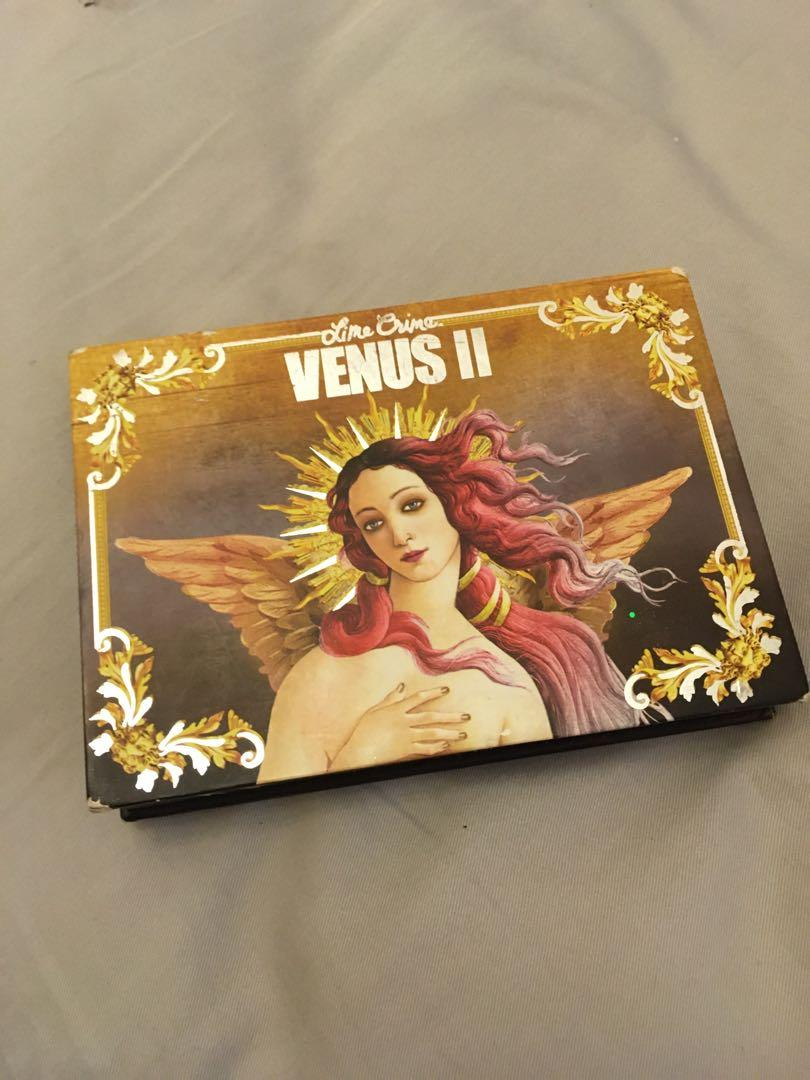 LIME CRIME Venus II 2 Ultimate Grunge Shadow Palette 8 Shades