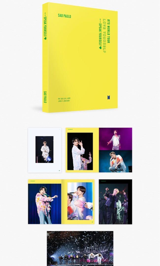 【P/O LOOSE ITEM】BTS WORLD TOUR 'LOVE YOURSELF: SPEAK YOURSELF' SAO PAULO DVD