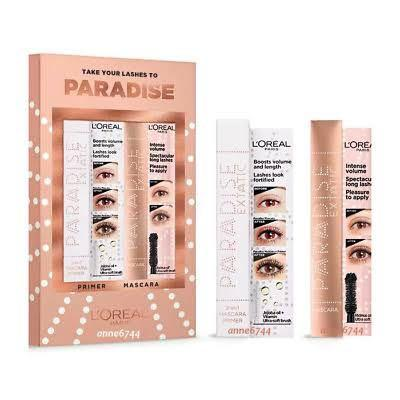 L'oreal Paris Paradise Extatic Boosted Volume 2 In 1 Jojoba Oil + Vitamin Ultra Soft Brush Mascara Primer