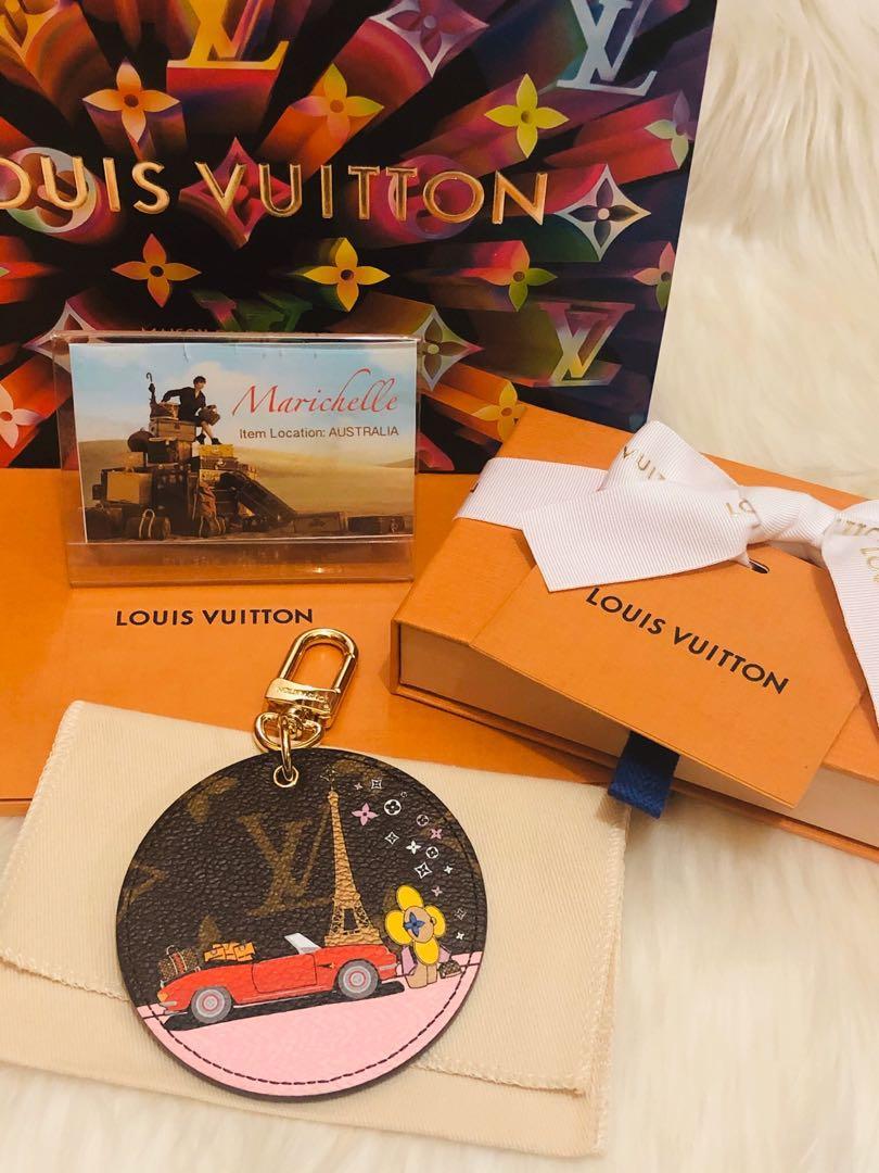 Louis Vuitton Vivienne Christmas bag charm and key holder