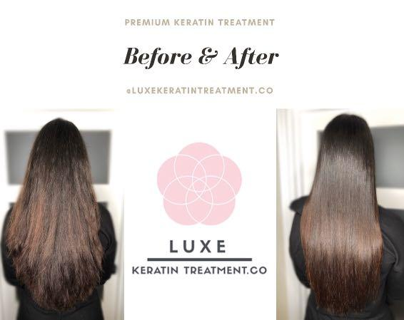 ✨LUXE KERATIN TREATMENT✨ Fall I love with your hair again ✨