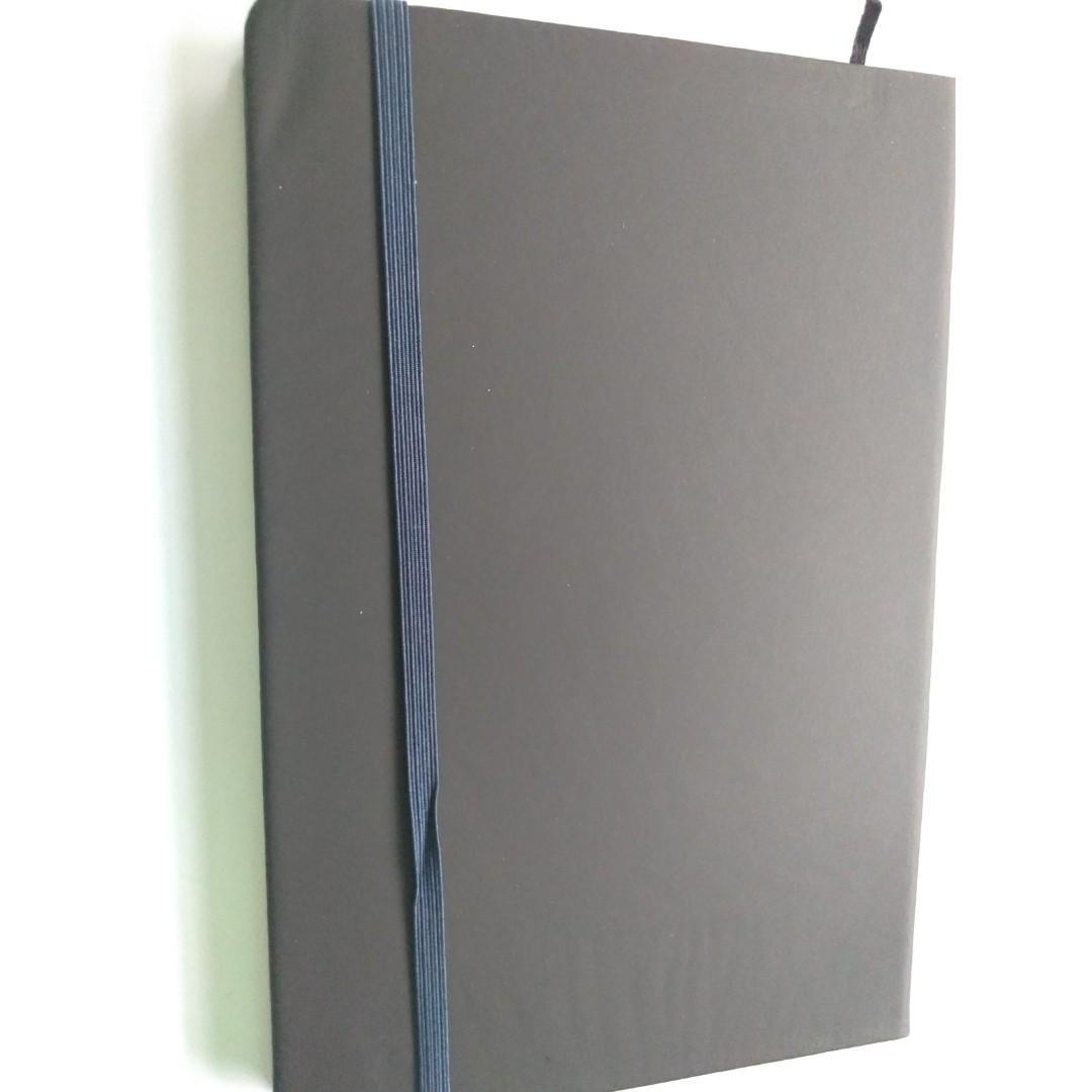 Moleskine notebook big corporate giveaways class looks like original moleskine
