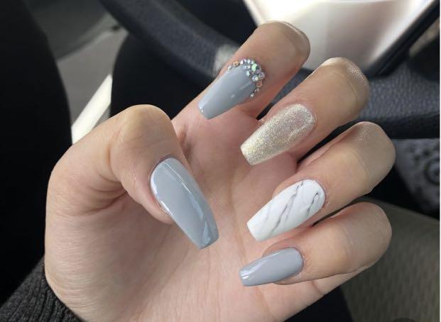 Nail extensions $50
