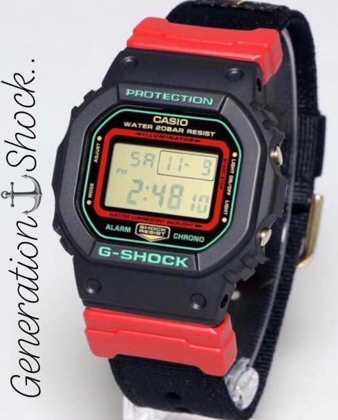 NEW🌟EDITION : GSHOCK UNISEX DIVER SPORTS WATCH : 100% ORIGINAL AUTHENTIC CASIO G-SHOCK : DW-5600THC-1DR / DW-5600THC-1 / DW-5600-THC-1DR