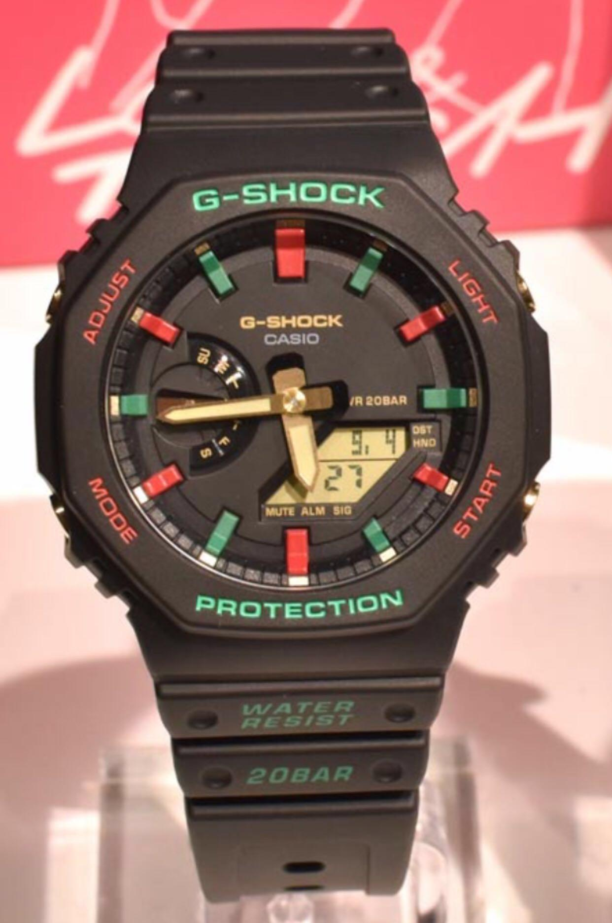NEW🌟EDITION : GSHOCK UNISEX DIVER SPORTS WATCH : 100% ORIGINAL AUTHENTIC CASIO G-SHOCK : GA-21000TH-1ADR / GA-21000TH-1A / GA-2100-1A