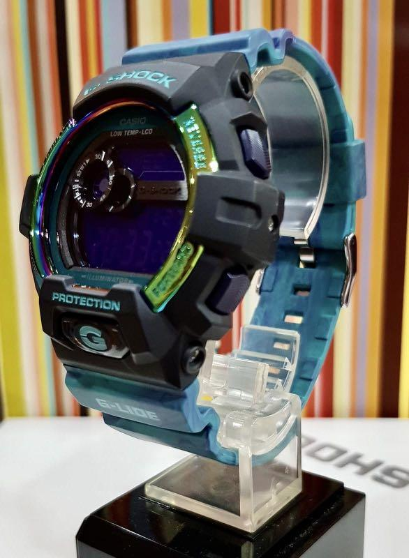 FULLY⛔️RESERVED : NEW🌟GSHOCK : UNISEX DIVER SPORTS WATCH : 100% ORIGINAL AUTHENTIC CASIO G-SHOCK : GLS-8900AR-3ER  / GLS-8900AR-3 (SEA SKY BLUE)