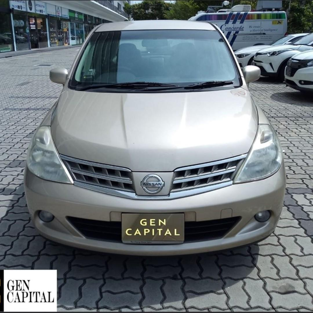 NISSAN LATIO FOR RENT! LOW RENTAL RATES BEFORE ANY INCENTIVES!