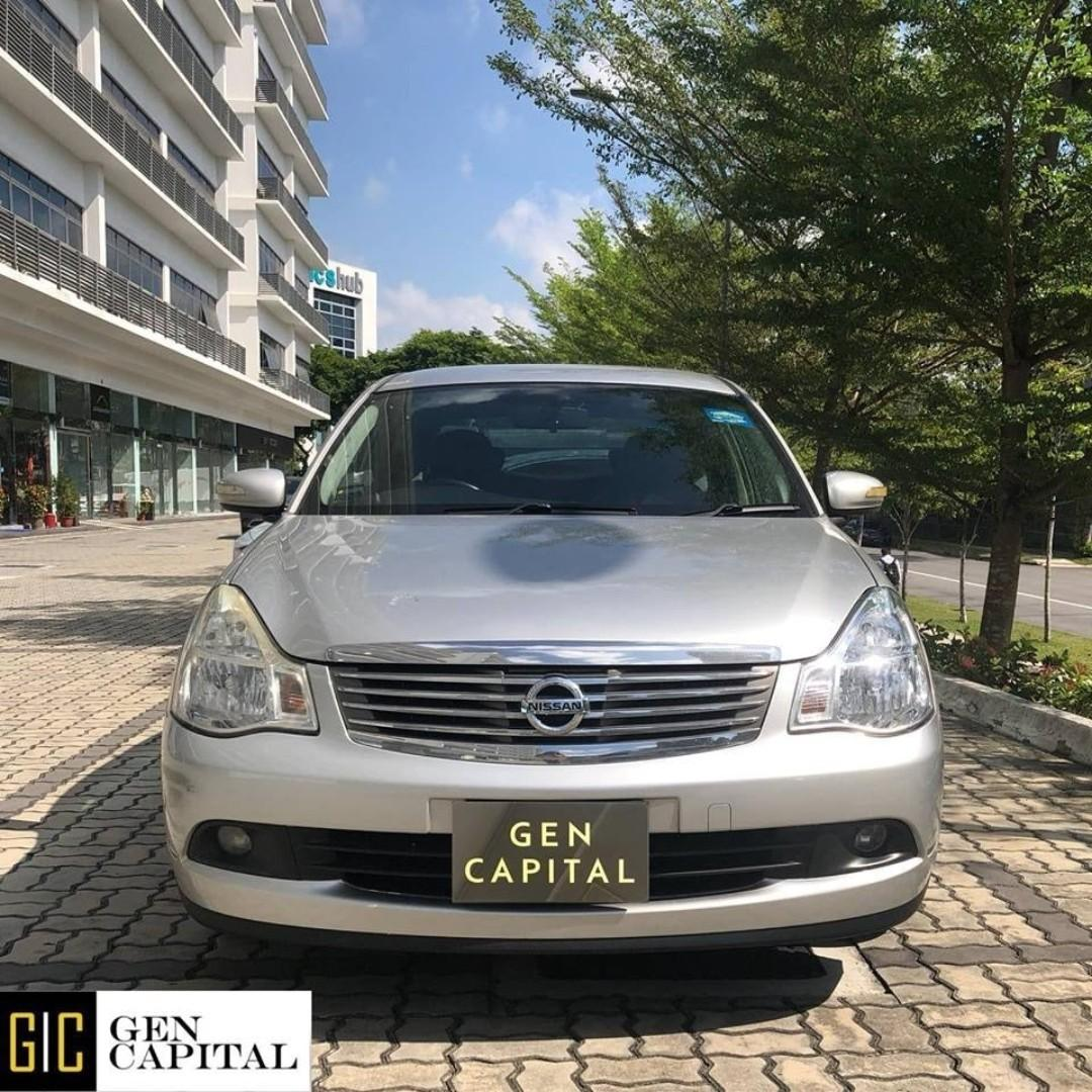 NISSAN SYLPHY FOR RENT! LOW RENTAL RATES BEFORE ANY INCENTIVES!