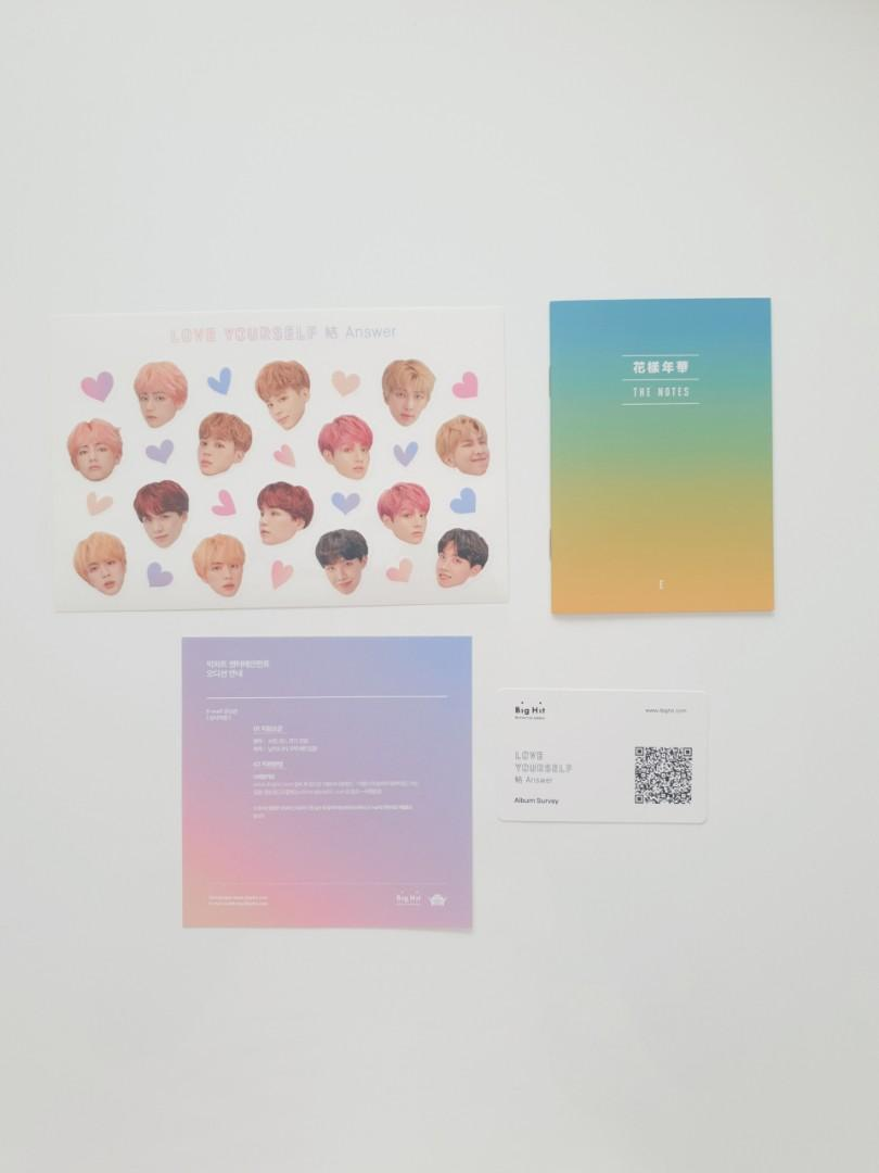 [OFFICIAL] NEW + UNPLAYED BTS Love Yourself 結 'Answer' Album | E Version