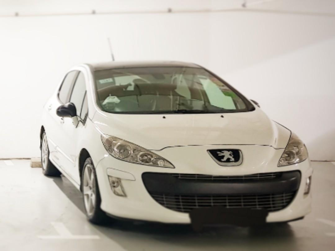 Peugeot 308 1.6 Turbo Glass Roof (A)