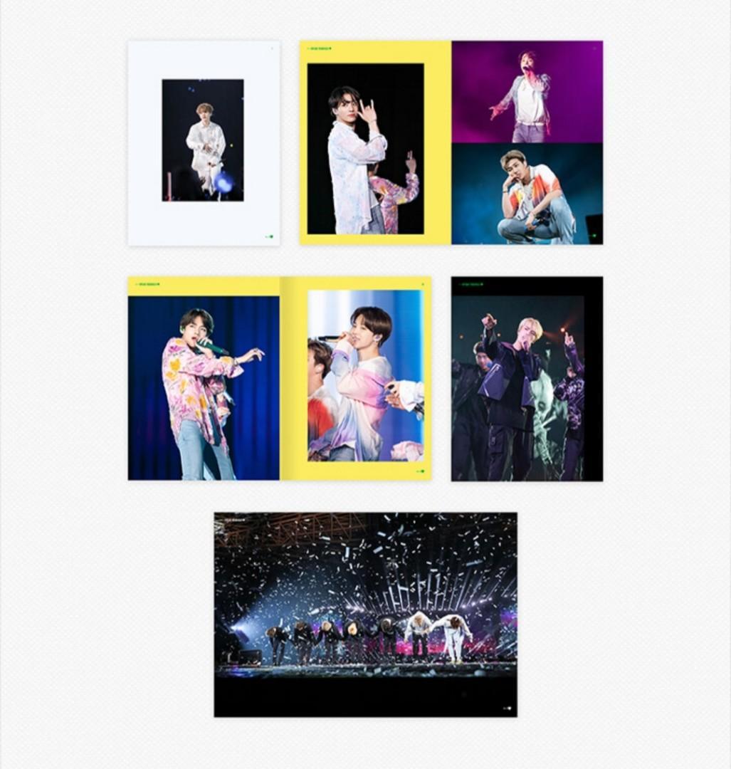 [PO] BTS World Tour ' Love Yourself: Speak Yourself' Sao Paulo DVD + PO Free Gift