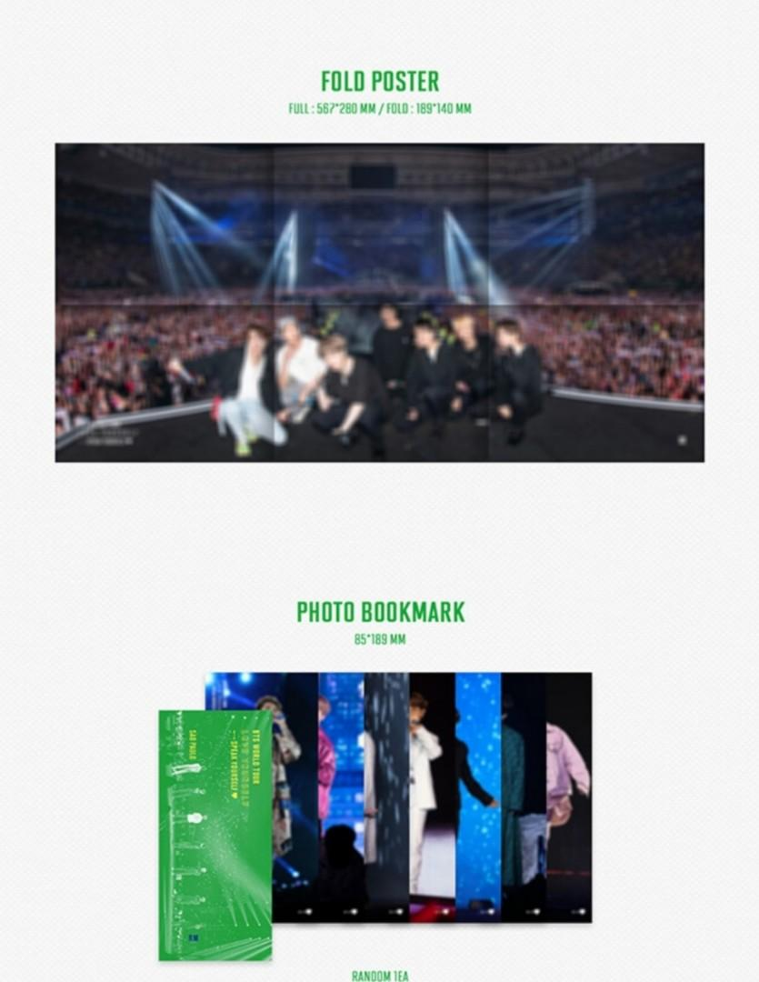 BTS World Tour ' Love Yourself: Speak Yourself' Sao Paulo DVD + PO Free Gift