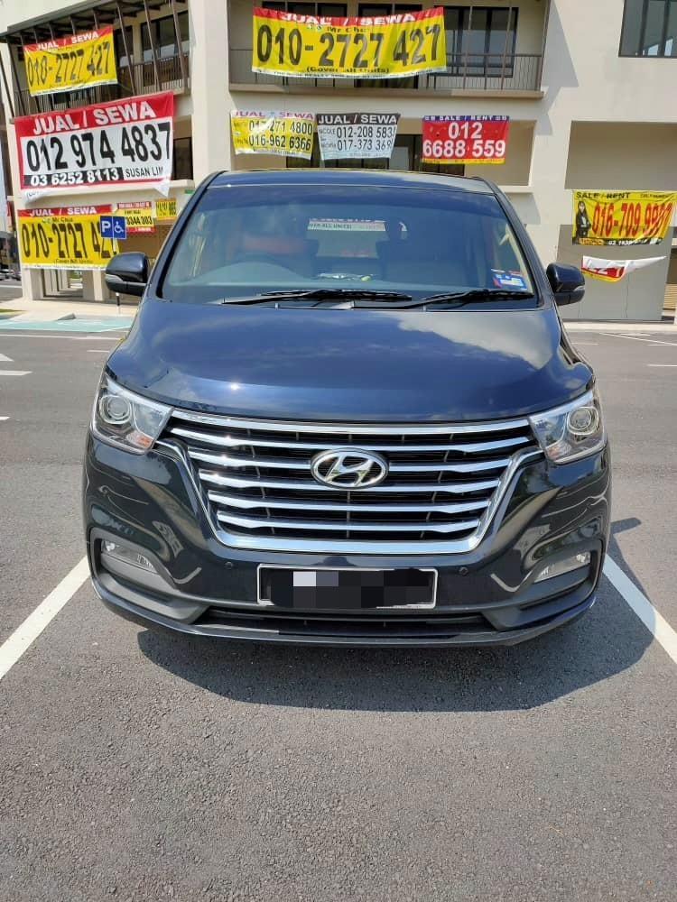 Powerfull New Hyundai Grand Starex Royale 2.5 (A) Kereta Sewa MPV Selangor KL