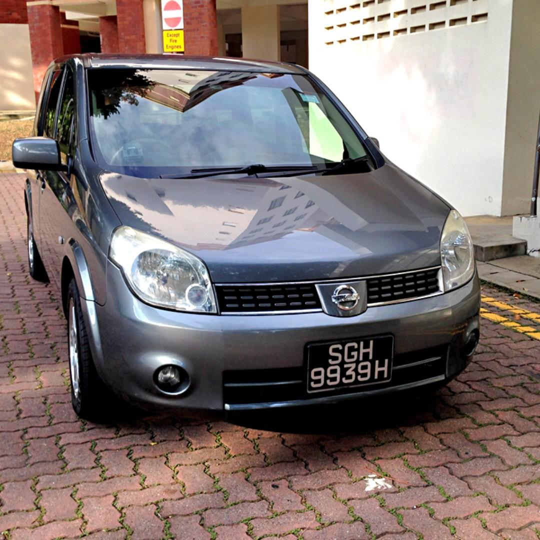 (P-plate welcome!) Nissan Lafesta 7-seater MPV available for weekend (Sat 30 Nov - Mon 2 Dec)