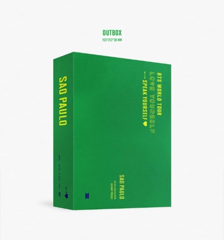 [PREORDER] BTS SPEAK YOURSELF WORLD TOUR SAO PAULO DVD