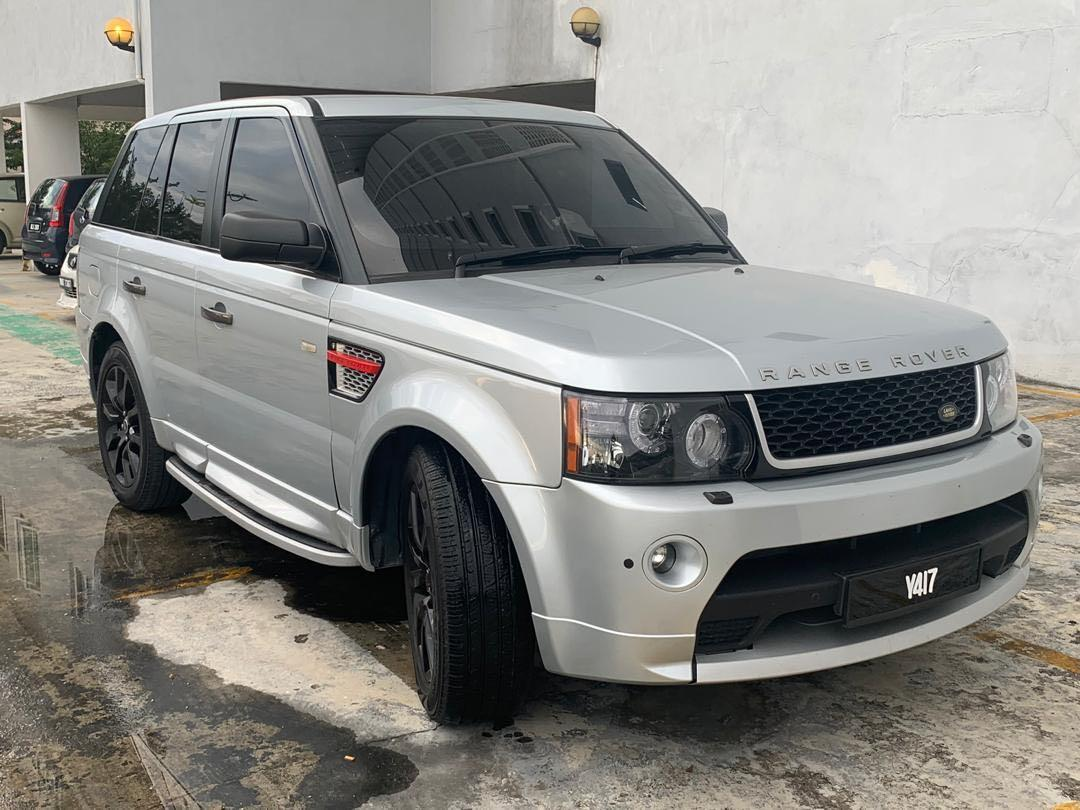 Range Rover Sport 4.2 Supercharge turbo Upgrade Facelift