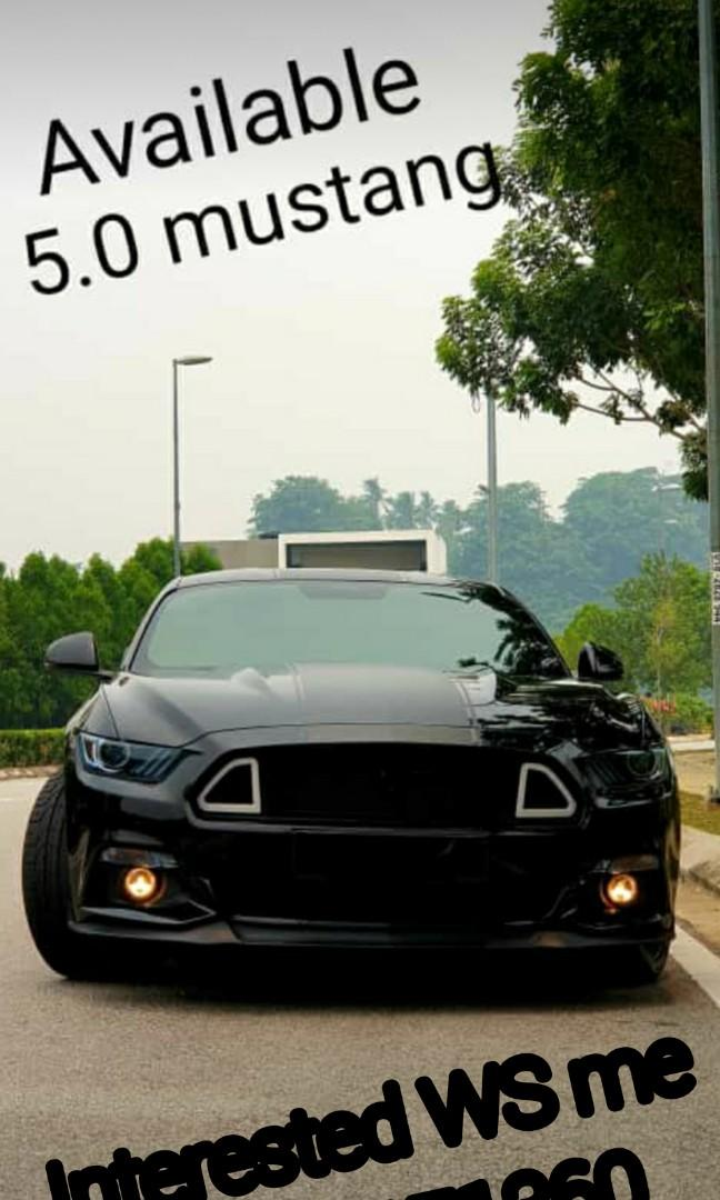 Sporty car rental # mustang available now got many cars its up to the date you need