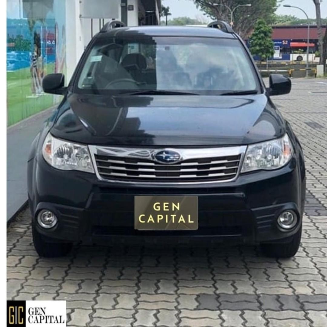 SUBARU FORESTER FOR RENT! LOW RENTAL RATES BEFORE ANY INCENTIVES!