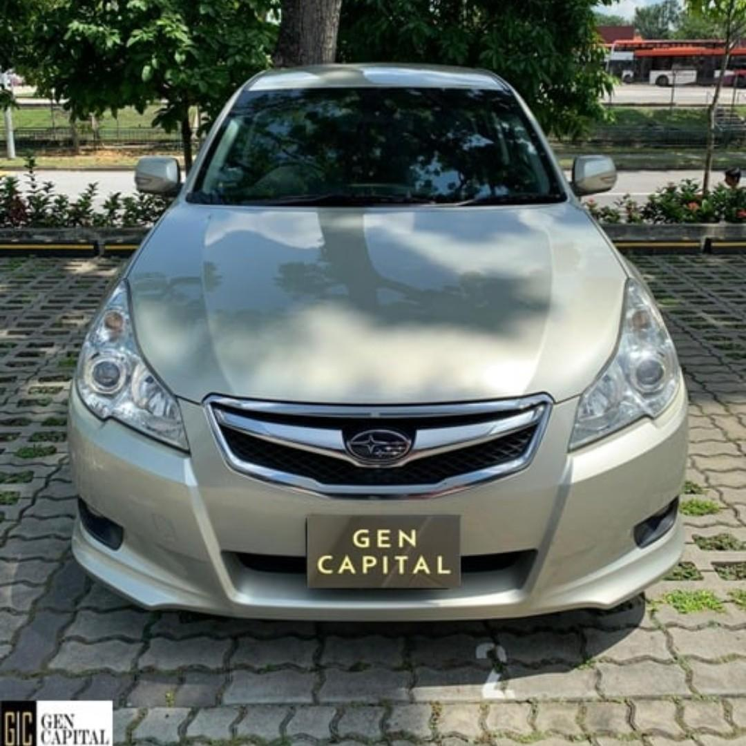 SUBARU LEGACY FOR RENT! LOW RENTAL RATES BEFORE ANY INCENTIVES!