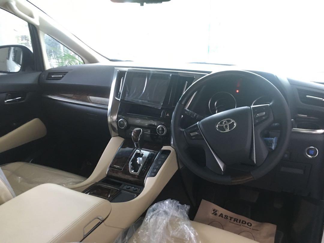 Toyota Alphard G AT 2019 Transformer Best Seller Best Price In Town