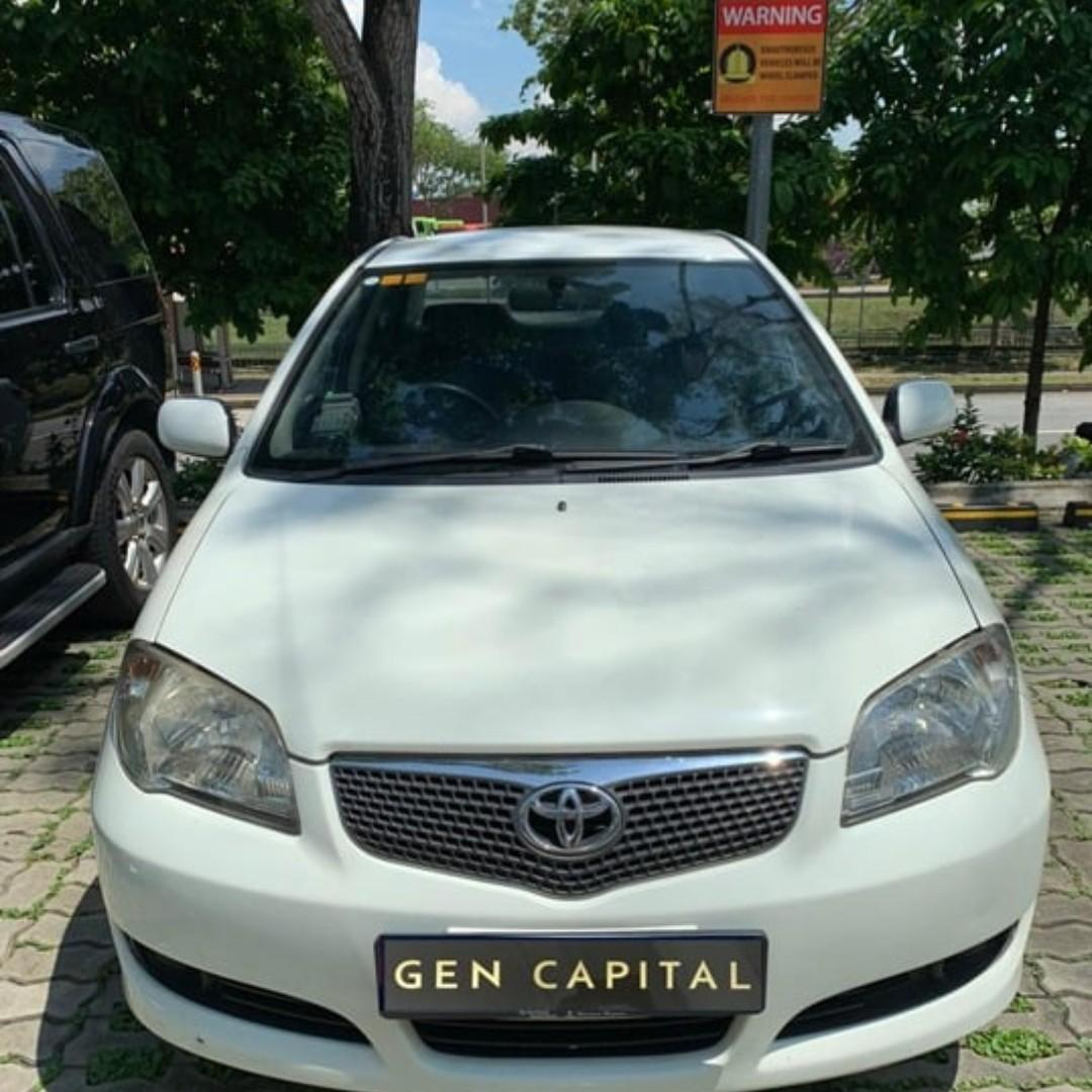 TOYOTA VIOS FOR RENT! LOW RENTAL RATES BEFORE ANY INCENTIVES!