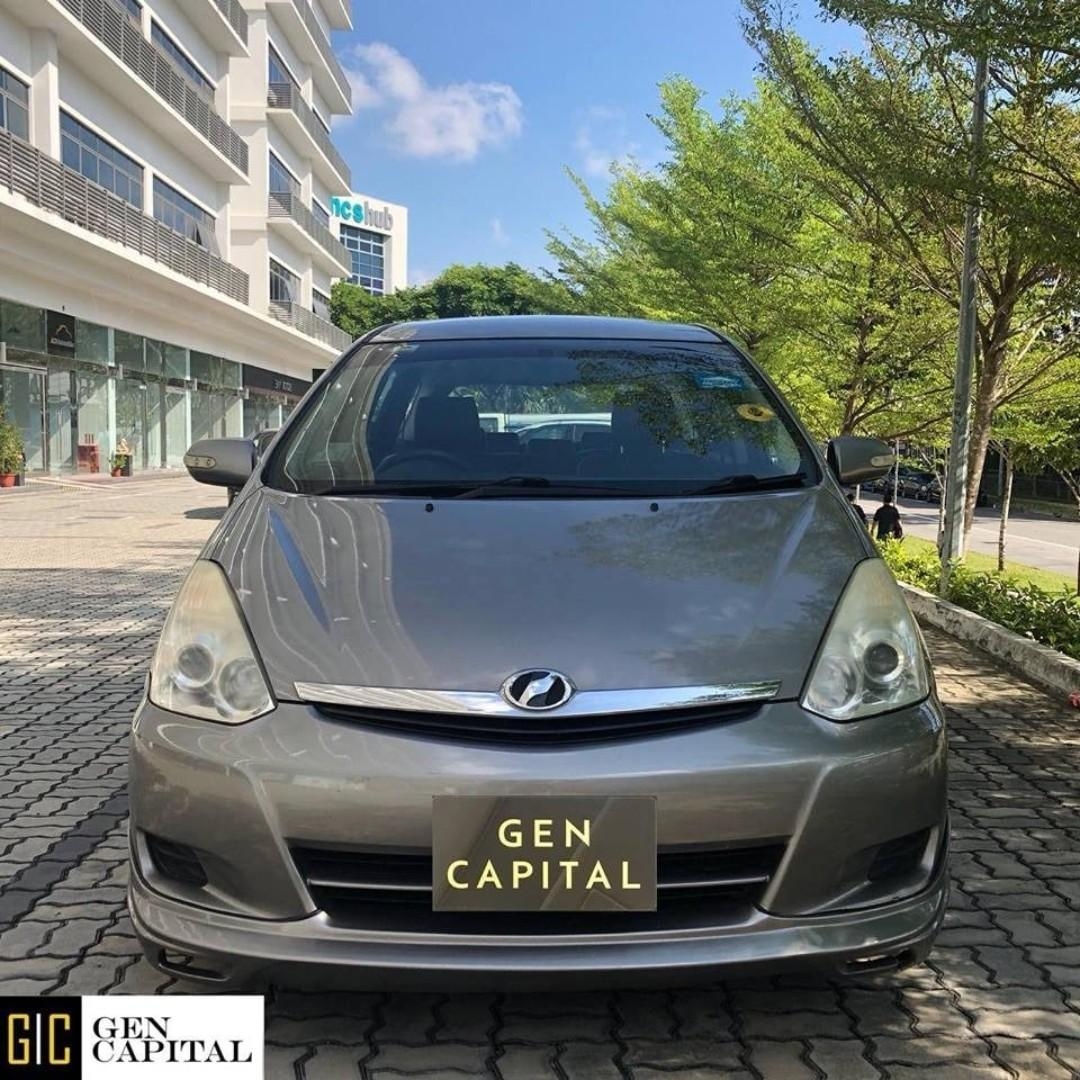 TOYOTA WISH RENT! LOW RENTAL RATES BEFORE ANY INCENTIVES!