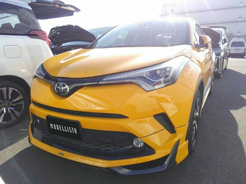 Unreg Import JPN Recond Toyota CH-R CHR 1.2L Intercooler Turbo 4WD with Ori Modellista Boost Impulse Aero