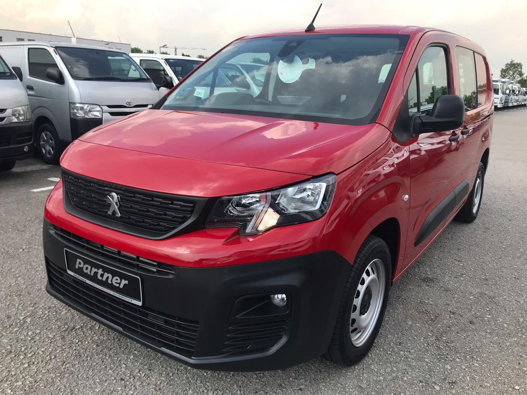 Unregistered Brand New Peugeot Partner 1.5 BlueHDI LWB Auto (Agent AutoFrance)