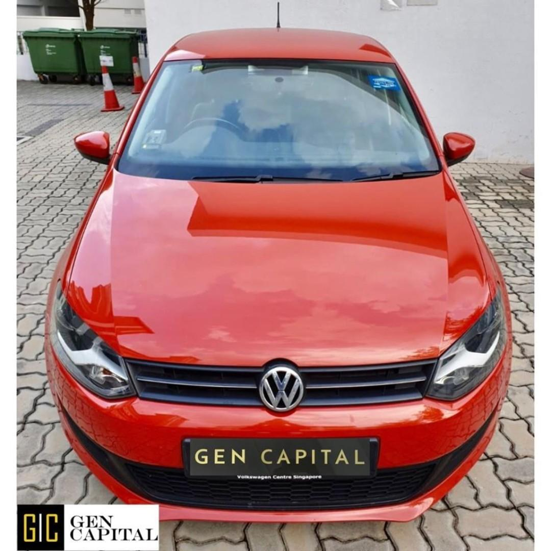 VOLKSWAGEN POLO FOR RENT! LOW RENTAL RATES BEFORE ANY INCENTIVES!