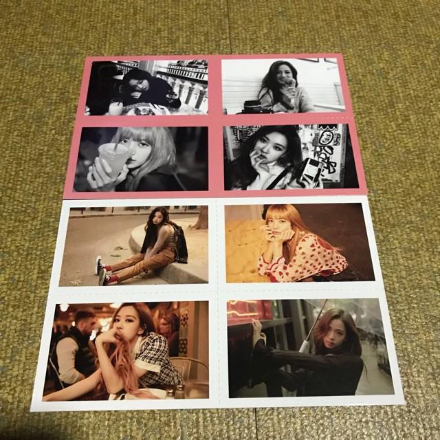 WTB BLACKPINK 2019 WELCOMIMG COLLECTION PHOTOCARDS