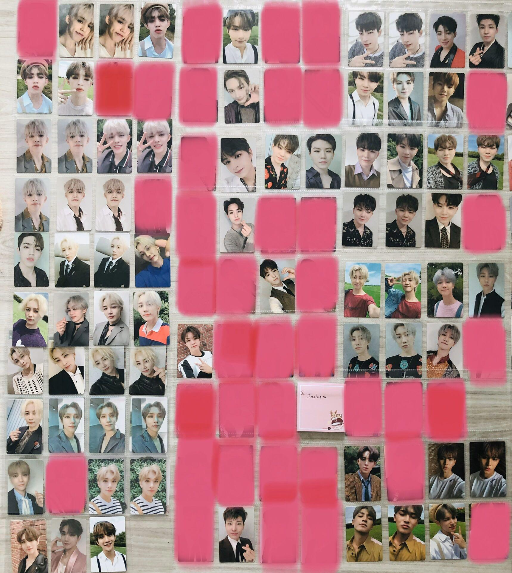 【WTS】SEVENTEEN AN ODE PC/PB/STICKERS/POSTERS
