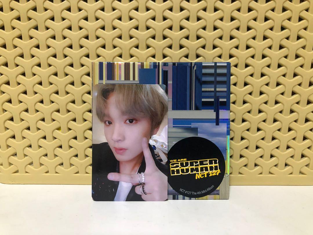 [WTT/WTS] NCT 127 Haechan We Are Superhuman / WAS kihno album + photocard / pc