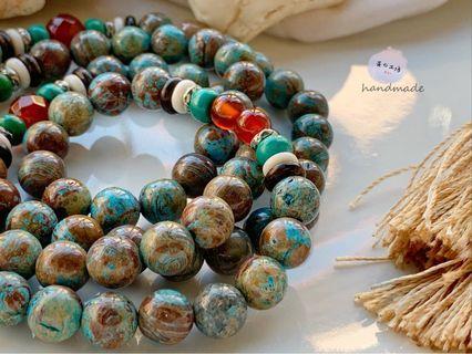 ▫️芸の工坊▫️藍彩石手鏈