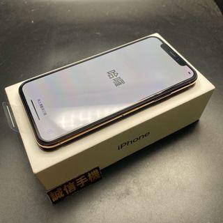 iPhone xs 64g 金色 全新官換機電池100% 完全未使用,保固至2020/2/26盒裝附充電組換貼優先限面交