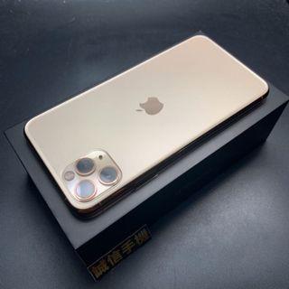 Apple iphone 11 pro max 256g 金色超級三眼怪保固至2020/9/19盒裝配件齊全全新換貼優先