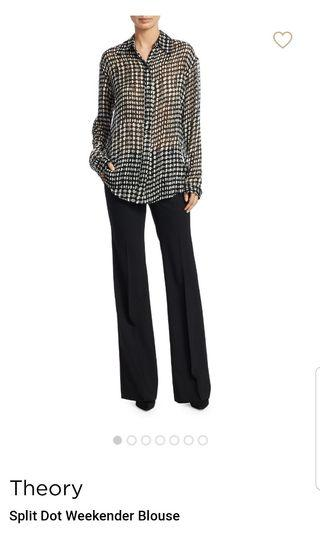 NWT Theory Weekender Blouse