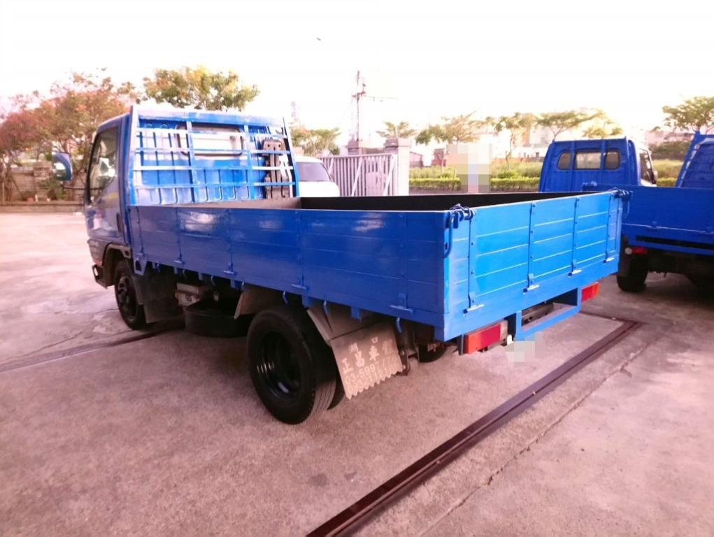 10呎半 堅達貨車 中華堅達 CANTER 3噸半柴油貨車 三期貨車 框式木斗 中古貨車 6輪 渦輪