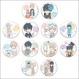 10 Count Yurutto 1 Nen Chibi Chara Can Badge Collection (Exclusive)