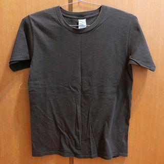 素T 美國棉 圓領 短袖 T-shirt t恤 咖啡色